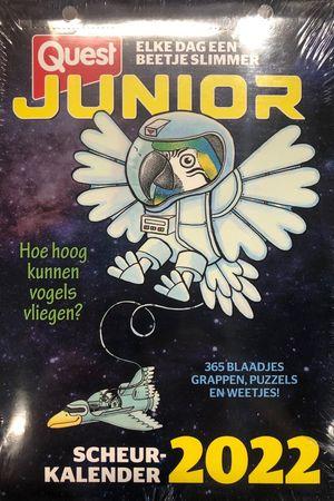 Quest Junior scheurkalender 2022