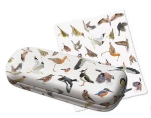 Brillenkoker en brillendoekje Vogels