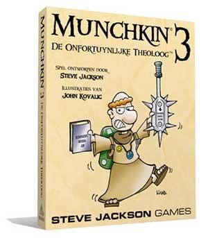 Munchkin NL 3 - De onfortuynlijke theoloog