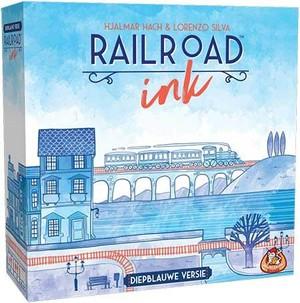 Railroad Ink - Diepblauwe versie