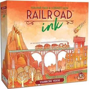Railroad Ink - Vuurrode versie