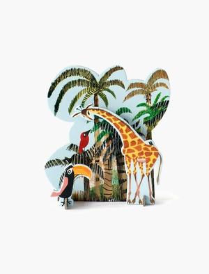 Pop Out Story - Jungle Giraffe Studio Roof