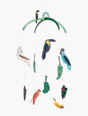 Mobiel Exotische Junglevogels Studio Roof
