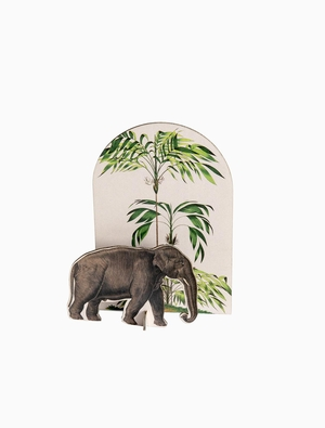 Pop Out Tropical - Elephant Studio Roof