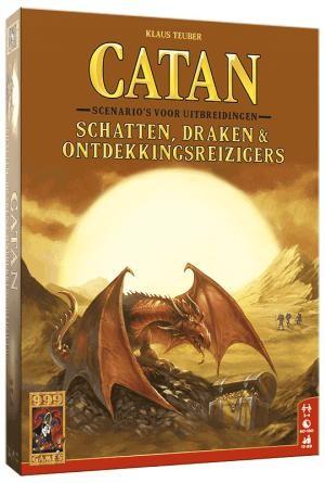 Catan - Schatten, Draken & Ontdekkingsreizigers