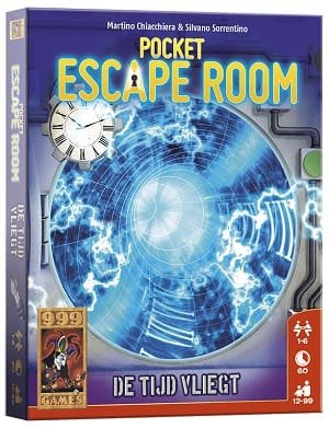 Pocket Escape Room - De tijd vliegt