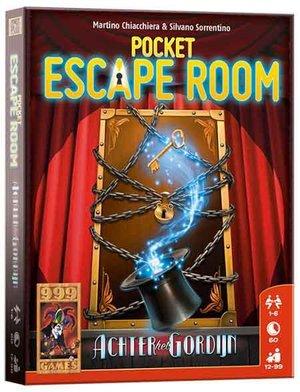 Pocket Escape Room - Achter het rookgordijn