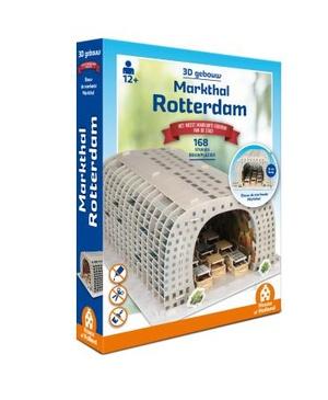 Puzzel Markthal Rotterdam 3D-gebouw - 168 stukjes bouwplezier