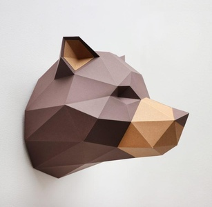 Paper Grizzly Folding Kit 2 kleuren Assembli