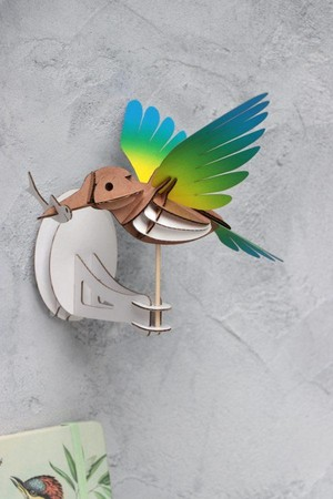 IJsvogel Geel - Blauw Assembli