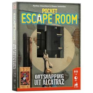 Pocket Escape Room - Ontsnapping uit Alcatraz
