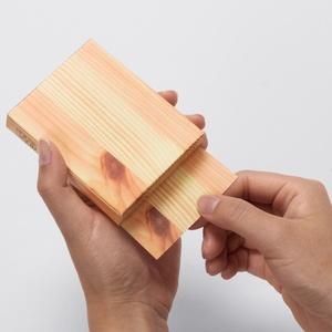 Block Wood Notitieblok