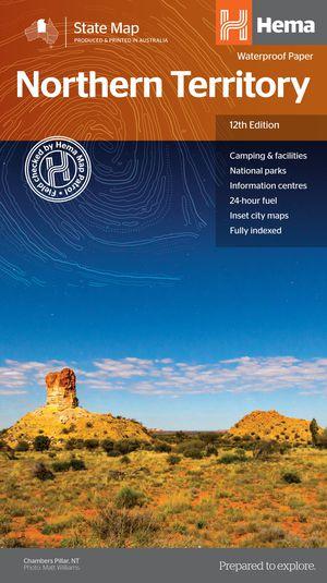 Hema Map State North Territory 1:1 800 000