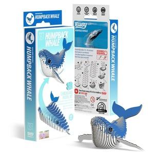 Eugy 3D Cardboard Model Kit Bultrug Walvis