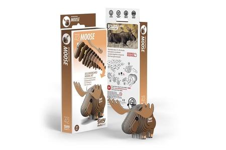 Eugy 3D Cardboard Model Kit Eland