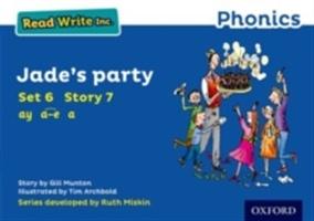 Read Write Inc. Phonics: Blue Set 6 Storybook 7 Jade's Party