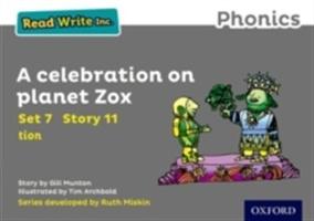 Read Write Inc. Phonics: Grey Set 7 Storybook 11 A Celebration On Planet Zox