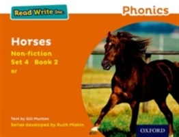 Read Write Inc. Phonics: Orange Set 4 Non-fiction 2 Horses