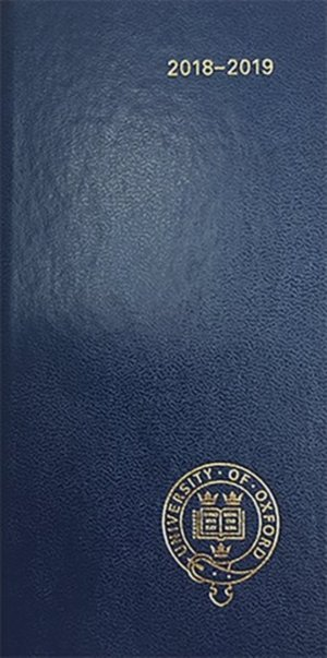 Oxford University Pocket Diary 2018-2019