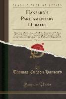 Hansard, T: Hansard's Parliamentary Debates, Vol. 115