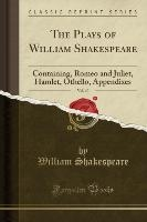Shakespeare, W: Plays of William Shakespeare, Vol. 10
