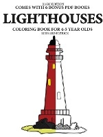 Simple Coloring Books For 4-5 Year Olds (lighthouses)
