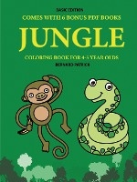 Coloring Book For 4-5 Year Olds (jungle)