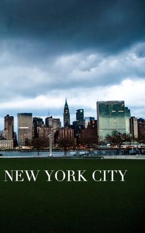 Iconic Manhattan Skyline New York City Drawing Writing Journal