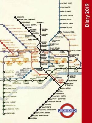 London Underground Pocket Diary 2019
