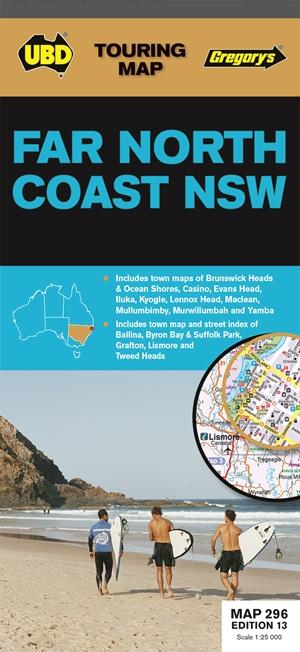 Far North Coast New South Wales 1 : 25 000 - 1 : 450 000