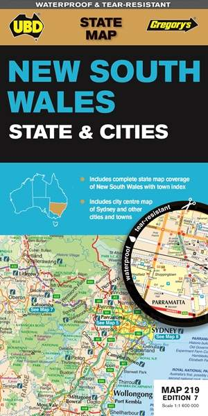 New South Wales State & Cities