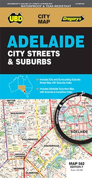 Adelaide City Streets & Suburbs