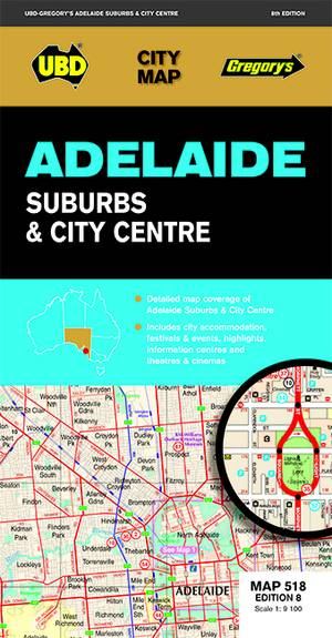 Adelaide Suburbs & City Centre