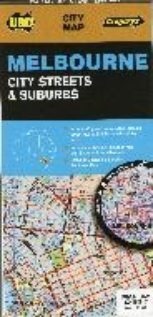 Melbourne City Streets & Suburbs 1 : 120 000