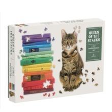 Puzzel Queen of the Stacks 2 in 1 puzzle 650 stukjes - legpuzzel