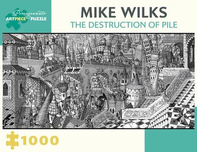 Puzzel Wilks - The Destruction of Pile 1000 stukjes