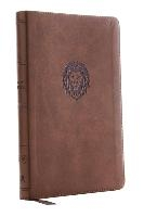 Kjv, Thinline Bible Youth Edition, Leathersoft, Brown, Red Letter Edition, Comfort Print