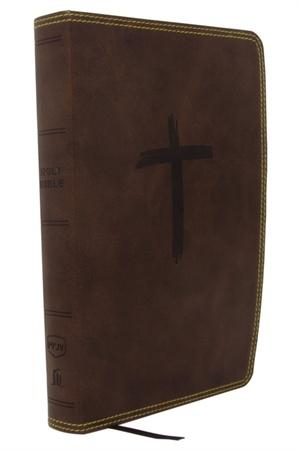 Nkjv, Holy Bible For Kids, Leathersoft, Brown, Comfort Print
