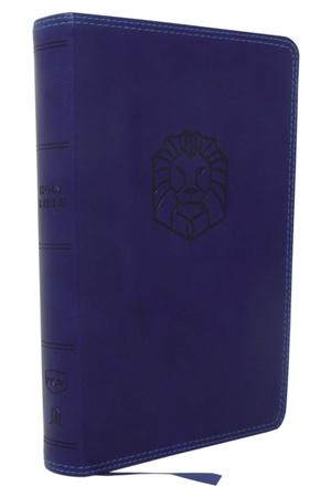Nkjv, Holy Bible For Kids, Leathersoft, Blue, Comfort Print