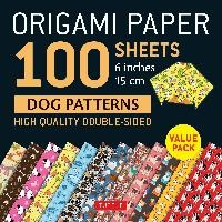 Origami Paper 100 Sheets Dog Patterns 6 (15 Cm)