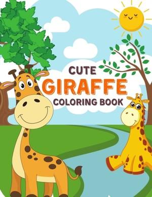 Cute Giraffe Coloring Book