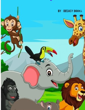 Libro De Actividades De Animales Para Ninos