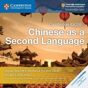 Cambridge Igcse (tm) Chinese As A Second Language Cambridge Elevate Teacher's Resource Access Card