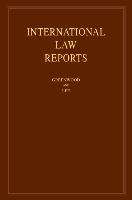 International Law Reports: Volume 190