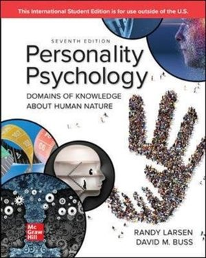 Ise Personality Psychology: Domains Of Knowledge About Human Nature