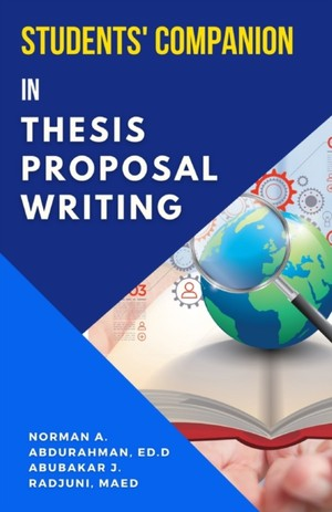 Students' Companion in Thesis Proposal Writing