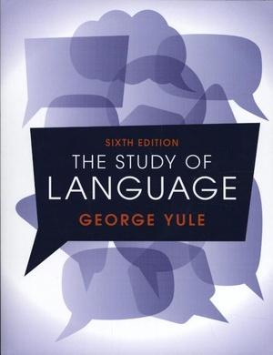 Study Of Language 6th Edition