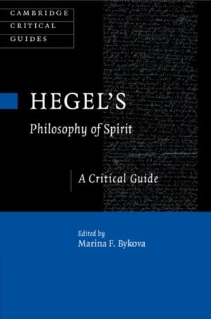 Hegel's Philosophy Of Spirit