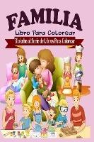 Familia Libro Para Colorear