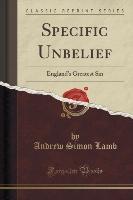 Lamb, A: Specific Unbelief